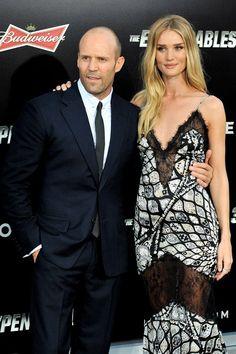 Jason Statham with Rosie Huntington Whiteley | GossipCenter - Entertainment News Leaders