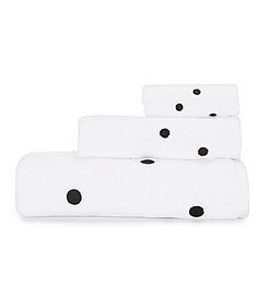 kate spade new york Deco Dot Bath Towels #Dillards