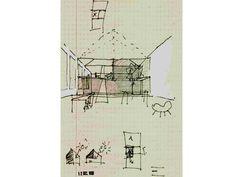 architecten de vylder vinck taillieu Hand Sketch, Presentation, Diagram, Sketches, House, Drawings, Illustration, Models, Image