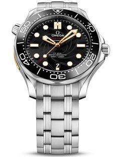 Omega Seamaster Diver 300M 007 James Bond On Her Majesty's