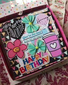 Birthday Ideas, Birthday Cards, Birthday Gifts, Canvas Crafts, Paper Crafts, Happy Birthday Video, Disney Princess Frozen, Cards Diy, Diy Scrapbook