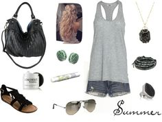 summer, created by robino1112 on Polyvore