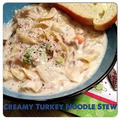Turkey Noodle Stew  #Ninja Cooking System