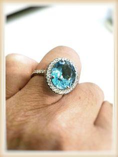 Topazio e diamanti