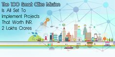 Projects worth over Rs 2 lakh crore under implementation in 100 smart cities Mission Smart City, Cities, The 100, Real Estate, News, Projects, Blue Prints, Real Estates, City