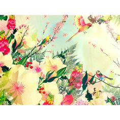Birds n flowers..