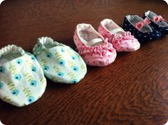 house of wimm: 3 Baby Shoe Tutorials