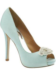 Duck egg blue heels x