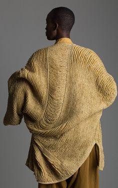 Issey Miyake cocoon sweater