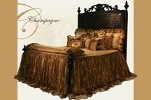Main picture of Champagne Bedset from Reilly-Chance Collections Luxury Bedding Manufacturers