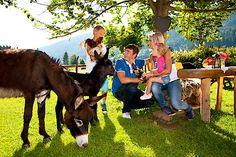 Tierischer Familienurlaub im Bergdorf der Tiere