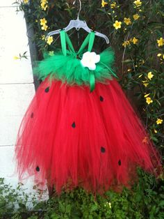 Strawberry Festival Tutu Dress- Infant- toddler- baby- girl 3m, 6m, 12m, 18m, 2t, 3t, 4t, etc on Etsy, $40.00