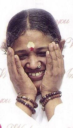 Amma - Her hug makes you feel like nothing else in the world matters. There you are in her arms floating in a river of love ♥ How glad I am to have met her!