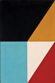 "igormaglica: "" • Frederick Hammersley (1919-2009), Fractions #17, 1960. • • oil on canvas, 18.125"" x 12.125"" """