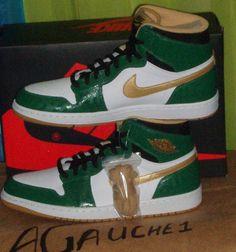 a74e8a9dee55c5 Celtics Air Jordan 1 Retro High OG Jordan Retro