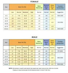 Everything about muscle mass percentage with charts pinterest