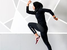Meet Zehra Allibhai, the Hijabi Mom poised to become a fitness star.