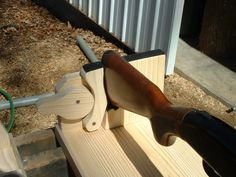 Gun Rest   Homemade Gun Rest Constructed From Lumber, Plywood, Foam, And A  Drawer Handle. | Projects To Try | Pinterest | Drawer Handles, Plywood And  Guns