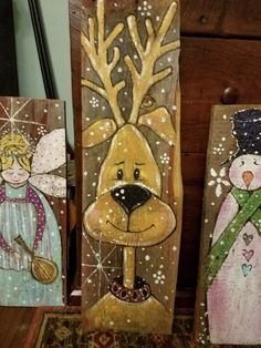 Classy Christmas Diy Pallet Plaque Ideas For Your Trending Decor 21 Snowman Christmas Decorations, Christmas Wood Crafts, Christmas Signs Wood, Snowman Crafts, Christmas Art, Christmas Projects, Holiday Crafts, Winter Christmas, Christmas Wreaths