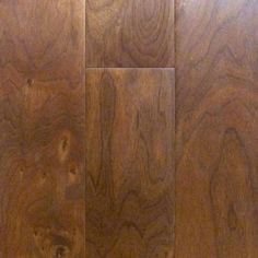 Walnut Fruitwood 9/16 x 5 x 1.5'  -  4.5' Select 4mm Wear Layer Smooth- Engineered Prefinished Flooring