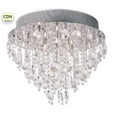 Classic and vintage is now taking part of modern minimal style , got to love this crystal creation.