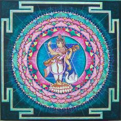 'May Saraswati, the goddess of learning,who is pale like a garland of kunda flowers, the moon and frost, who is dressed in white, whose hands are occupied in playing the lute,and who is seated on a white lotus flower, who is always adored by the gods Brahma, Vishnu and Shiva protect me by completely removing the dullness of my intellect'    Prayer from the Vedas