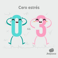 Cero estrés - Happy Drawings :) #compartirvideos #imagenesdivertidas…