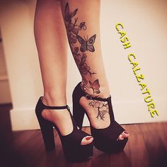 Pretty Shoes, Cute Shoes, Me Too Shoes, Love Tattoos, Tatoos, Chunky Shoes, Pump It Up, Shoes Heels Wedges, Platform High Heels