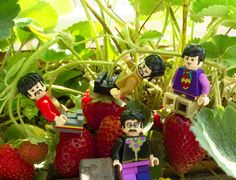 It's getting hard to be someone but it all works out  #strawberry #beatles #forever