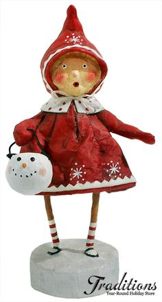 *SNOWMAN ~ Lori Mitchell Folk art