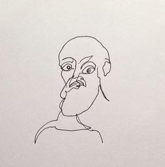 Blind Contour Matisse