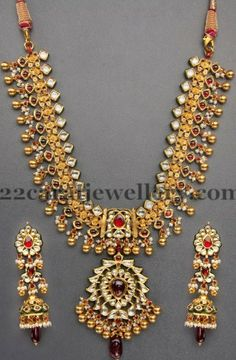 Trendy Kundan Tussi Necklace | Jewellery Designs