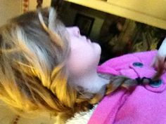 First curl your hair then put it in a braid! :)