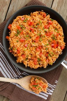 The very best mexican rice with a secret ingredient.