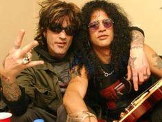 Tommy Lee & Slash
