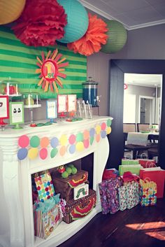 """Photo 1 of 21: The Very Hungry Caterpillar, by Eric Carle / Birthday """"Elle and Gabby 1st Birthday""""   Catch My Party"""