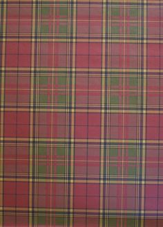 Plaid wallpaper in my library!!!!!   Hubby said no......:(