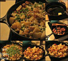 Potatoes and Sausage #Recipe
