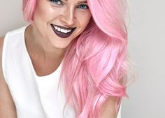 Top 5 Best Sulfate Free Purple Shampoos To Tone Blonde Hair | MayaLaMode Silver Ombre Hair, Dyed Hair Ombre, Pink Hair Dye, Pastel Pink Hair, Hair Color Pink, Gray Hair, Space Buns, Updo Hairstyles Tutorials, Bun Hairstyles