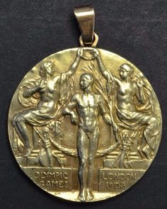 London's 1908 Olympic gold medal
