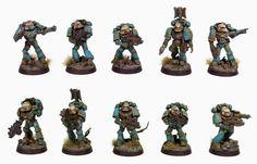 Alpha Legion tactical marines