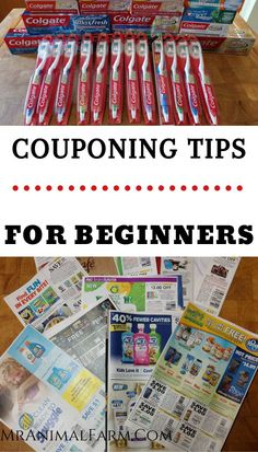 Couponing Tips for Beginners - - Couponing can be a GREAT way to save money. With these couponing tips for beginners you can learn how to get started couponing easily. Extreme Couponing Tips, How To Start Couponing, Couponing For Beginners, Couponing 101, Save My Money, Ways To Save Money, Money Tips, Grocery Coupons, Shopping Coupons