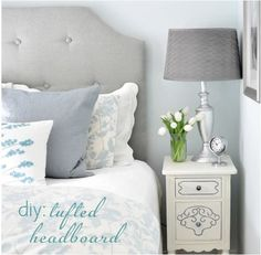 Diy Tufted Headboard (oldie But Goodie)