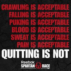 Discover and share Funny Spartan Quotes. Explore our collection of motivational and famous quotes by authors you know and love. Reebok Spartan Race, Spartan Race Training, Spartan Workout, Strength Training, Weight Loss Motivation, Fitness Motivation, Motivation Wall, Fitness Workouts, Fitness Tips