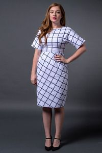 Kingdom & State Gridlock Dress