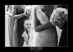 Flower Girl, Wedding Photography, BW, Black, and, White