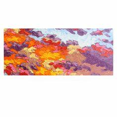 """Jeff Ferst """"Evening Multicolor Sky"""" Sunset Sky Luxe Rectangle Panel"""