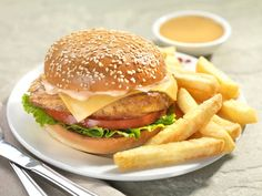 Special #Burgers for your special ones with addictive flavors of peri-peri sauces!  www.barcelos.co.in  #Delhi #food #hotels #sauces #foodblog