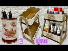 Jute Crafts, Cool, Macrame, Picnic, Basket, Youtube, Ideas, Hands, Manualidades