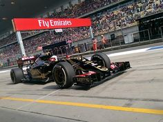 And here's @RGrosjean attempting box entry